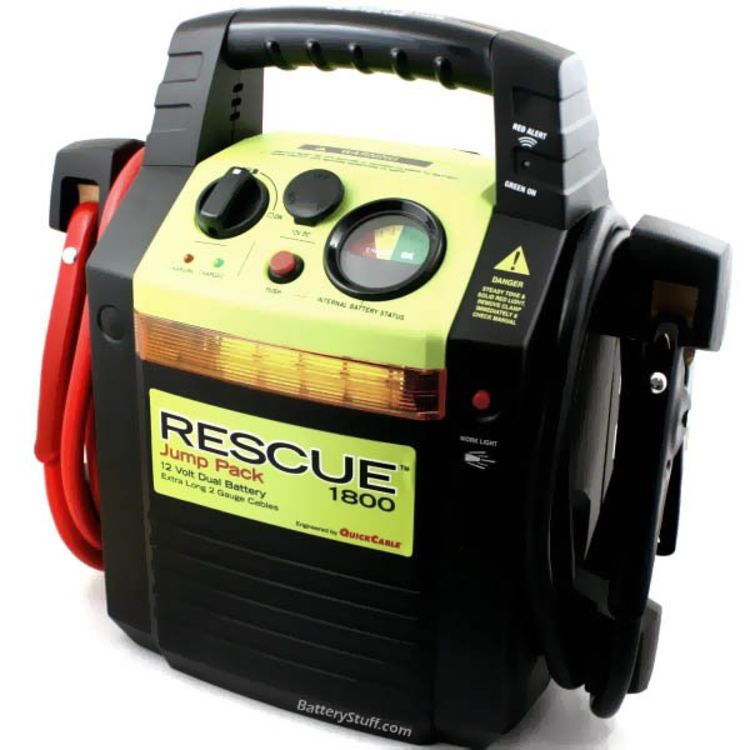 Car Jump Pack >> Quick Cable 12v Emergency Car Jump Pack Rescue 1800
