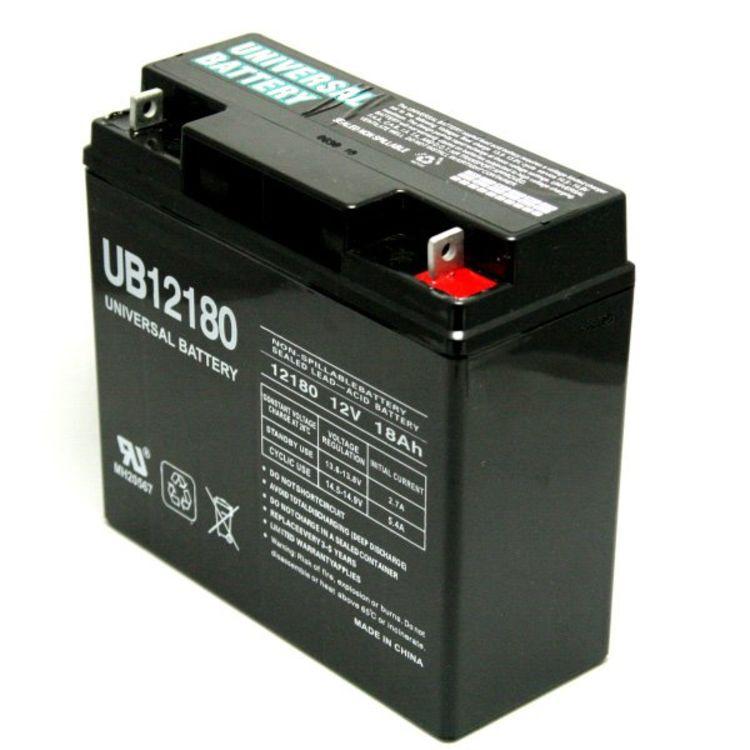 Lead Acid Battery >> Universal 12v 18 Ah Deep Cycle Sealed Lead Acid Battery Sla 12180