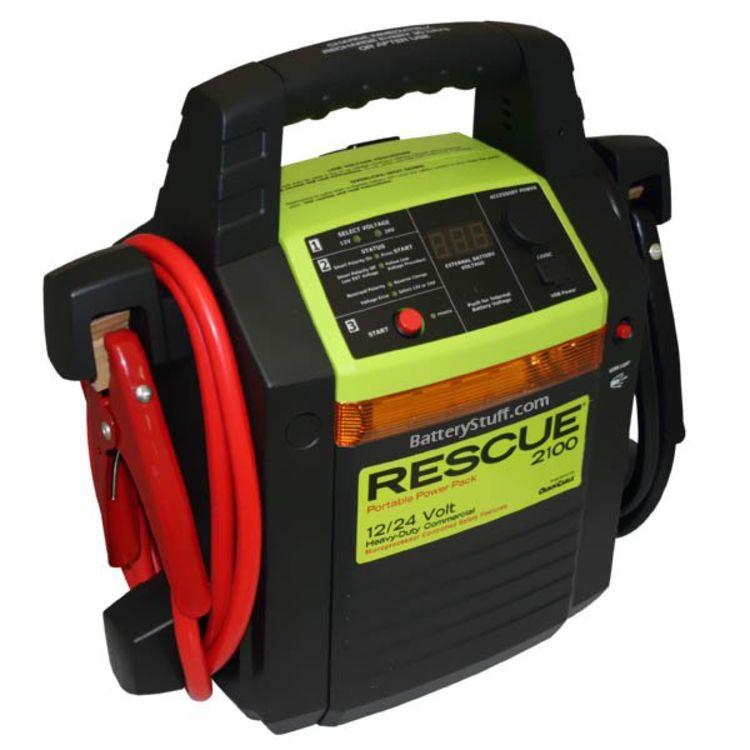 Rescue 2100 Jump Pack 12/24 Volt