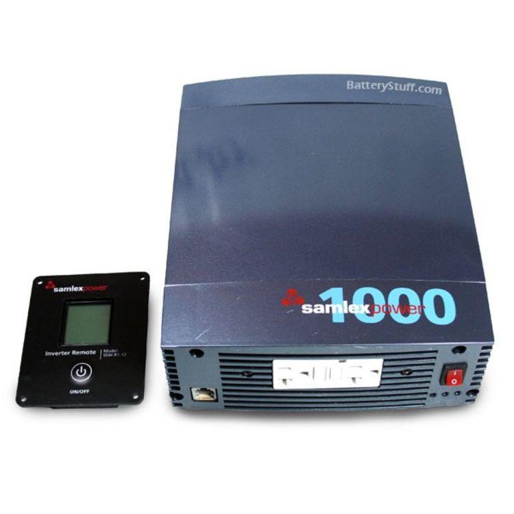 Samlex  SSW-1000-12A 1000-watt 12V Pure Sine Wave Inverter