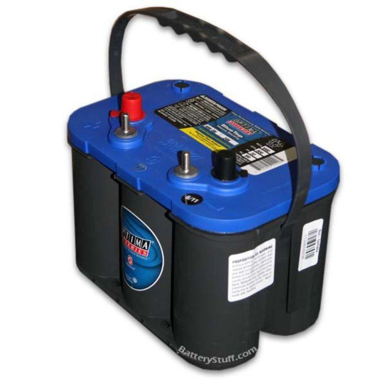 Optima Blue Top >> Optima Blue Top 34m 800 Cca High Powered Spiral Wound Automotive Battery
