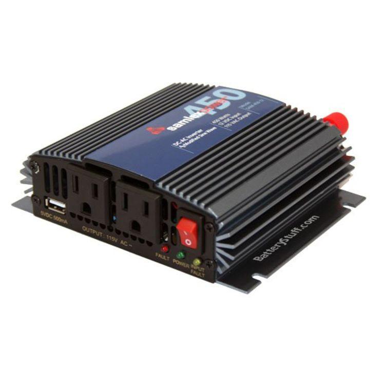 Samlex 12v 450 Watt Modified Sine Wave Power Inverter SAM-450-12