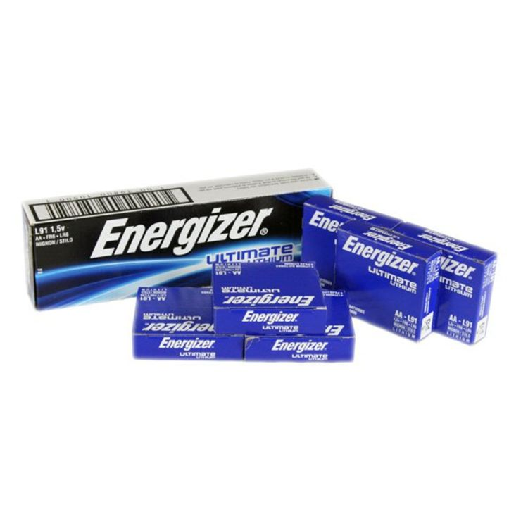 energizer aa ultimate lithium bulk 24 pack l91. Black Bedroom Furniture Sets. Home Design Ideas