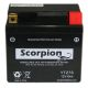 YTZ7S Scorpion 12v 130 CCA AGM ATV & Motorcycle Battery