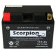 YTZ14S Scorpion 12v 240 CCA AGM Scooter & Motorcycle Battery