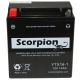 YTX16-BS-1 Scorpion 12v 220 CCA AGM ATV & Motorcycle Battery