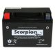 YTX9-BS Scorpion 12v 135 CCA Sealed AGM Motorcycle Battery
