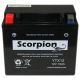 YTX12-BS Scorpion 12v 180 CCA Sealed AGM Motorcycle Battery