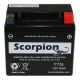 YT5L-BS Scorpion 12v 70 CCA AGM ATV & Motorcycle Battery