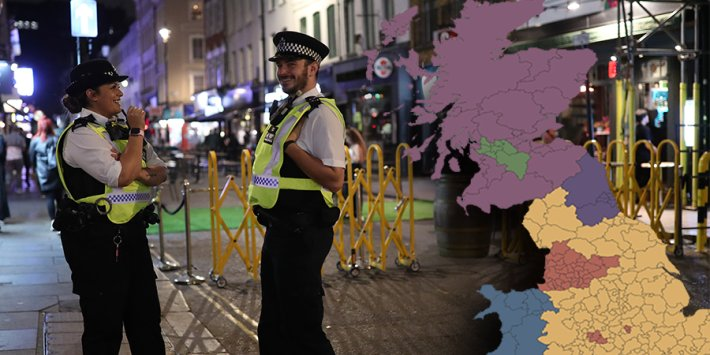 Live Local Lockdown Map Every Local Authority Subject To New Restrictions Across Great Britain