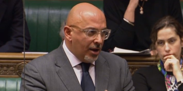 Tory Minister Nadhim Zahawi Has Condemned The 'Corrosive' Leaking Of The Government's Latest Lockdown Proposals