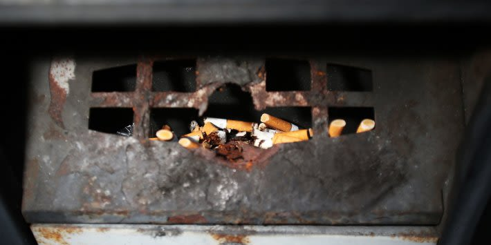It's time the tobacco industry takes responsibility for the clean-up costs of cigarette litter
