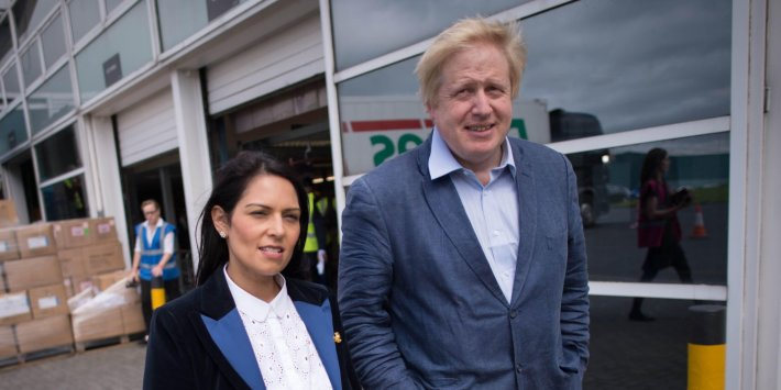"""Review Of Boris Johnson's Decision That Priti Patel Did Not Break Rules Over """"Bullying"""" Can Go Ahead, Court Rules"""