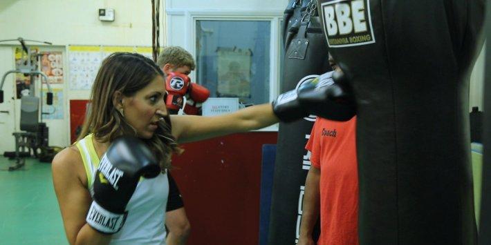 Pastimes: kick boxing with Dr Rosena Allin-Khan