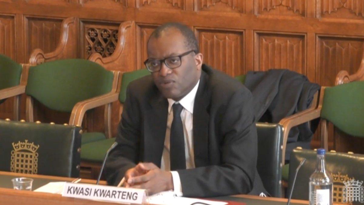 "Kwasi Kwarteng Says He Wasn't ""Pushed Under The Bus"" By Rishi Sunak Over The Greensill Lobbying Row"