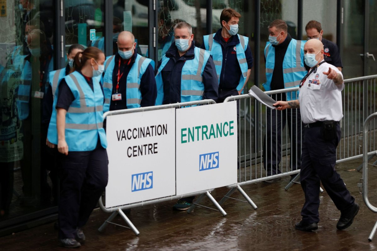 All Over 18s In Blackburn To Be Offered Covid Vaccines From Next Week After Sharp Rise In Indian Variant