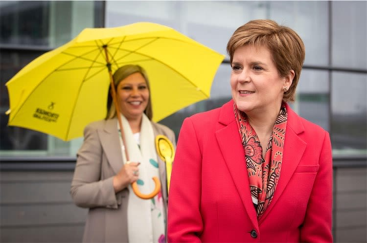 SNP Secure Fourth Scottish Parliament Victory But Fall One Just Short Of Overall Majority