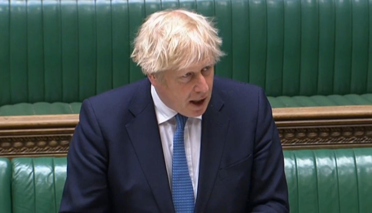 No.10 Are In The Dark Over Boris Johnson Being Served With County Court Judgement For £535 Debt