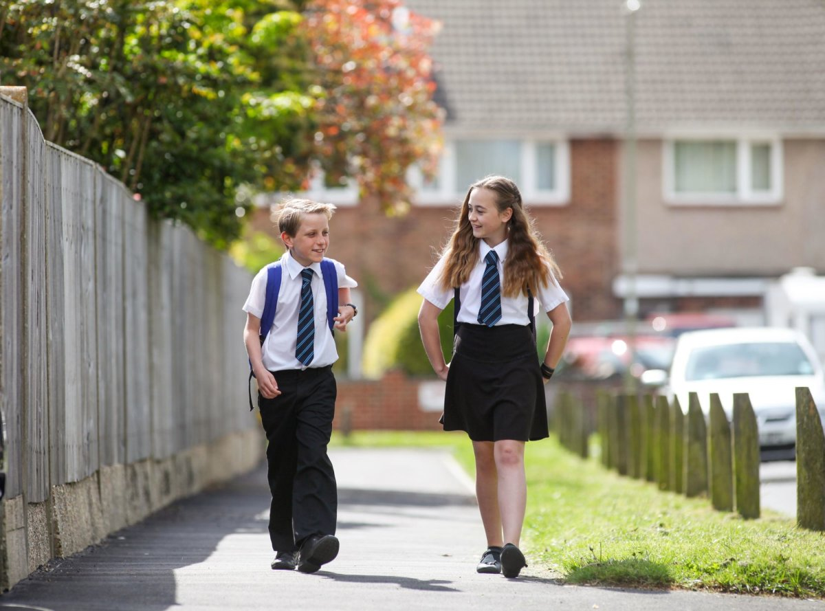 Now law, the School Uniform Bill will help keep clothing costs down for struggling families