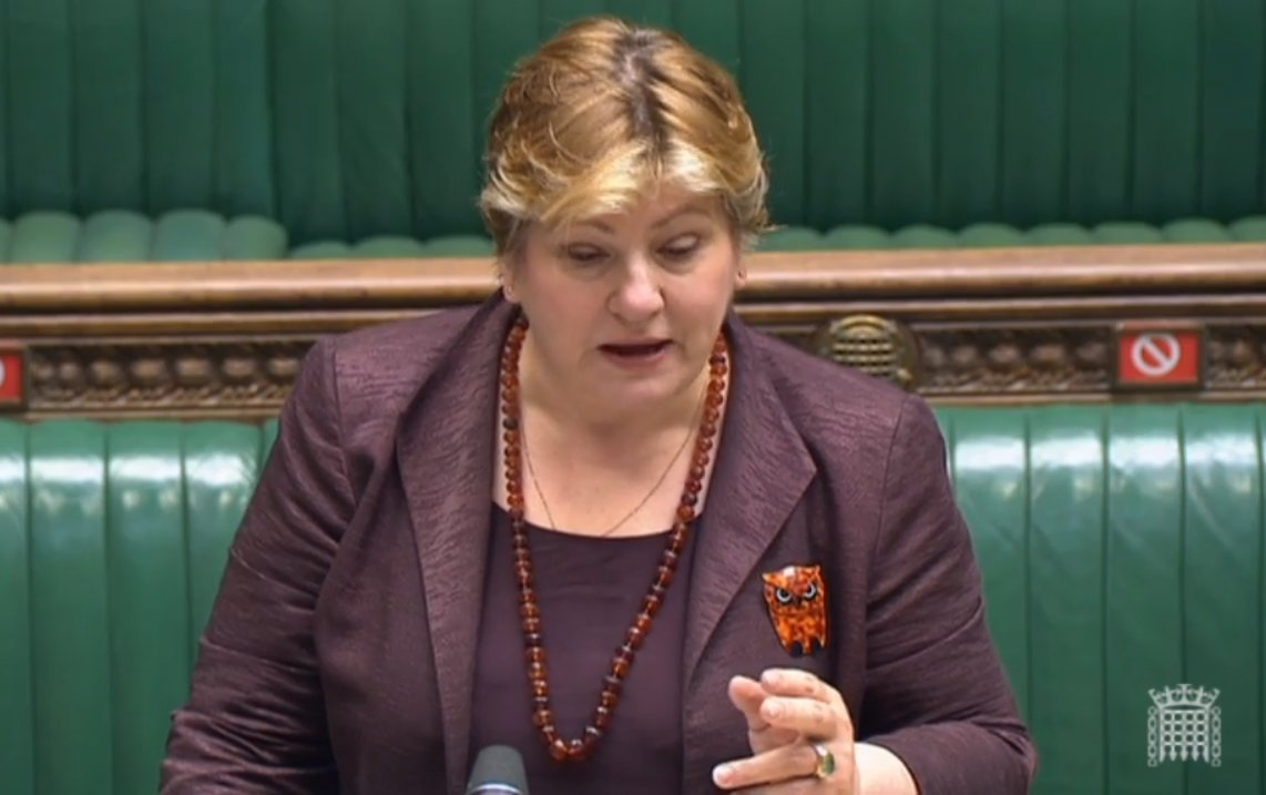 """Emily Thornberry Says Liz Truss Is """"Not Up To The Job"""" Over """"Indefensible"""" Australia Trade Deal"""