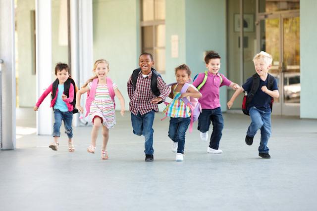 kids running, breathing