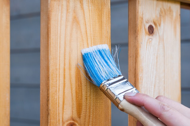 painting and finishing wood