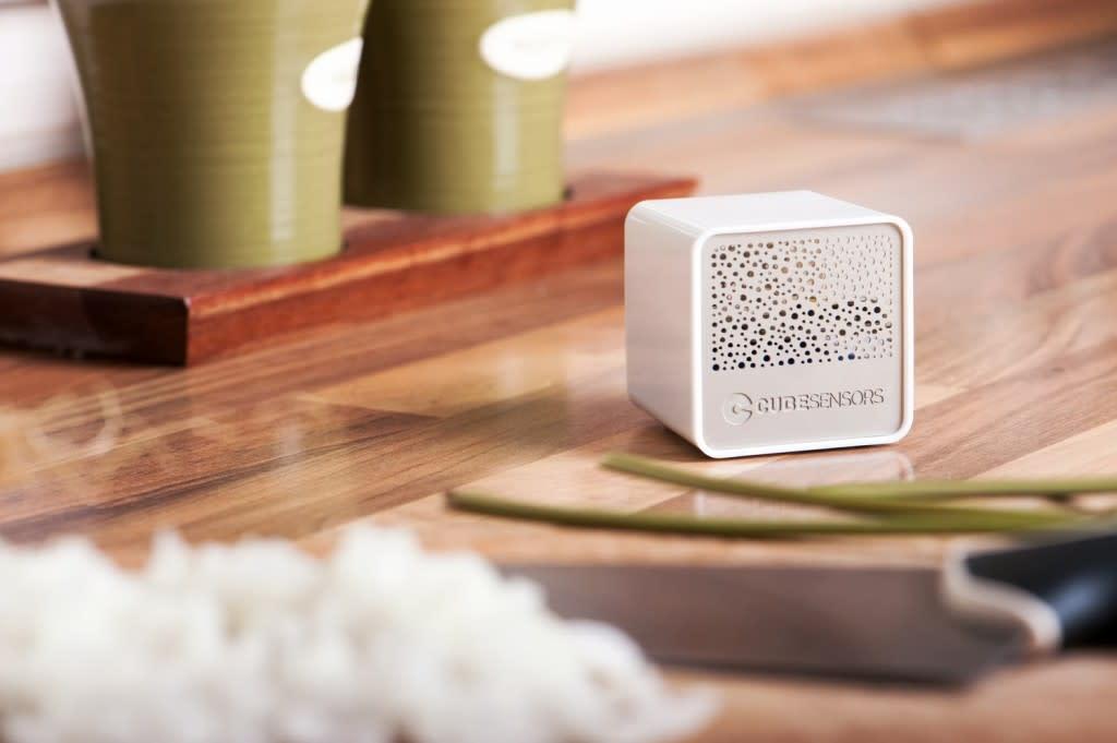 Cube-sensors-4 air quality monitor