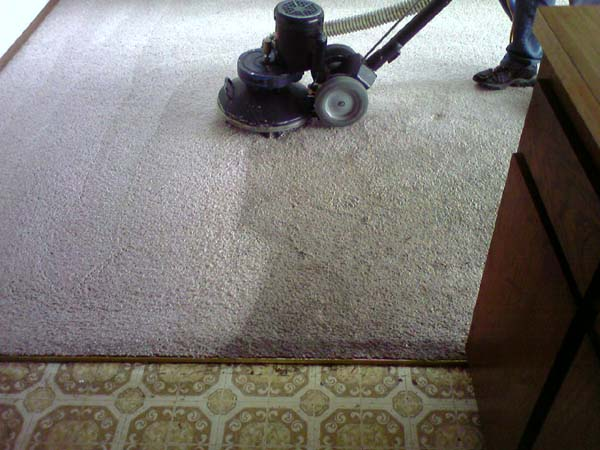 dirty carpet with dust