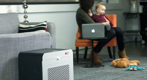 ej air purifier family