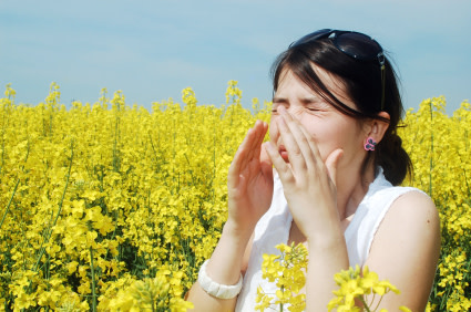 Climate change and allergies