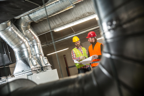 ventilation workers