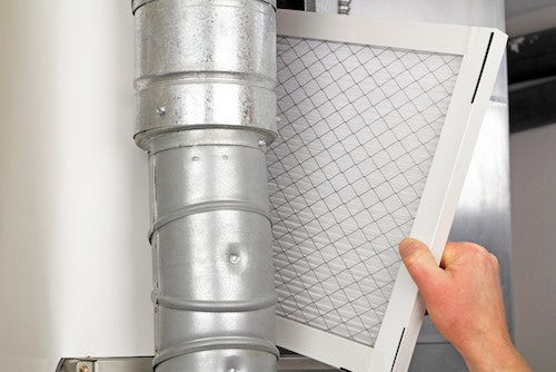 air filter for ventilation system