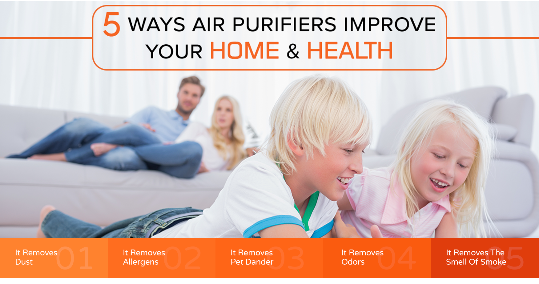how to improve health with air purifiers