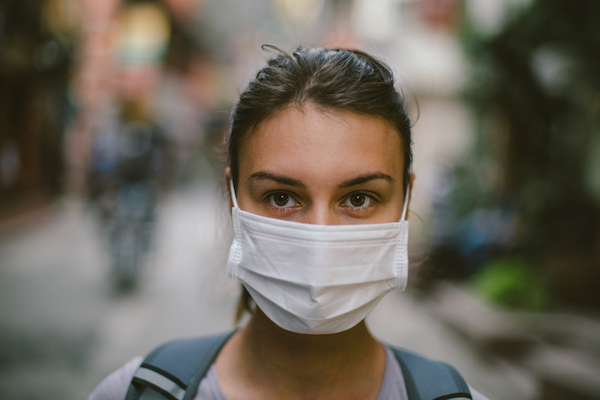 mask to avoid pollution