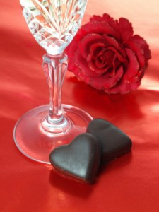 Chocolate and Wine - Heart Healthy Valentine's Day treats