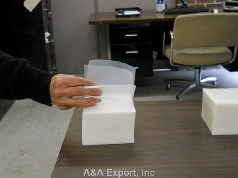 4x4 Clear Plastic Tabs 10,000 cts Free Shipping A/&A Export Inc On Sale Now