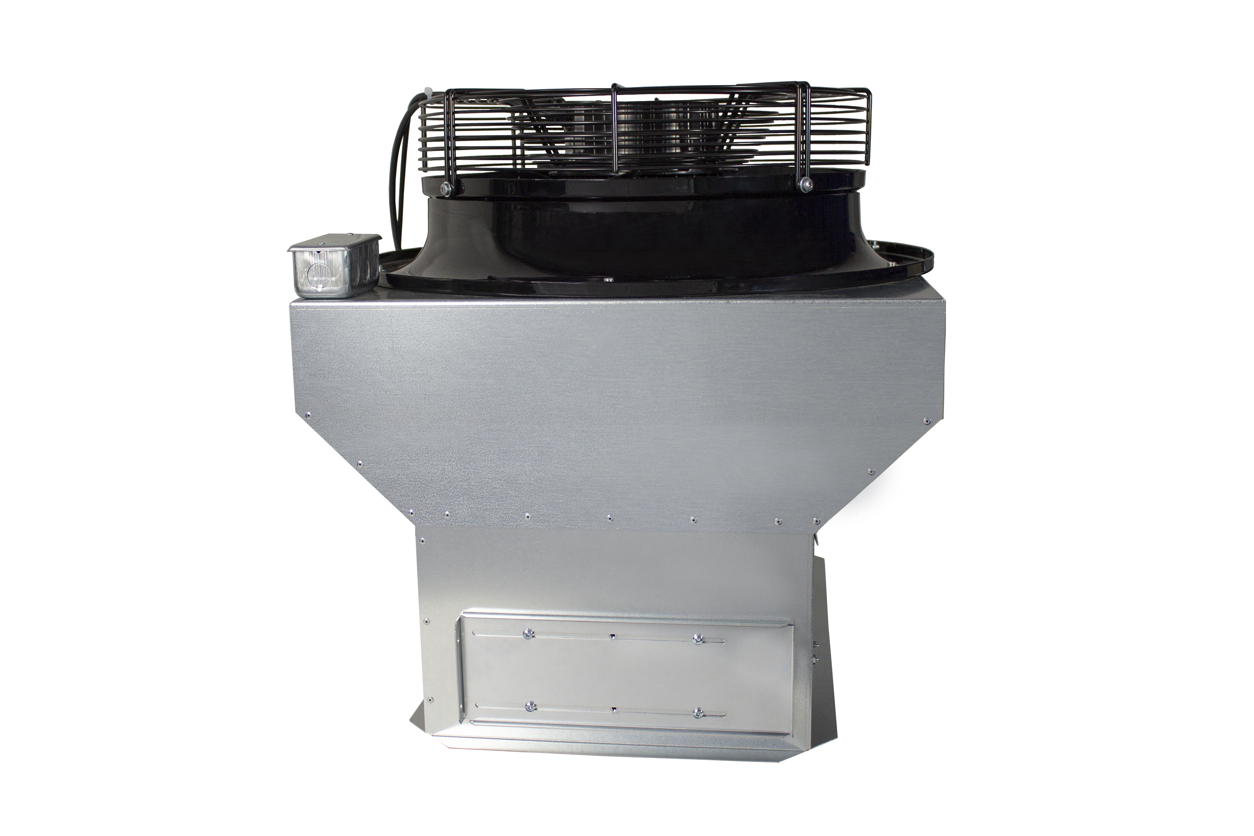 Oransi energy efficient whole house fan with damper box