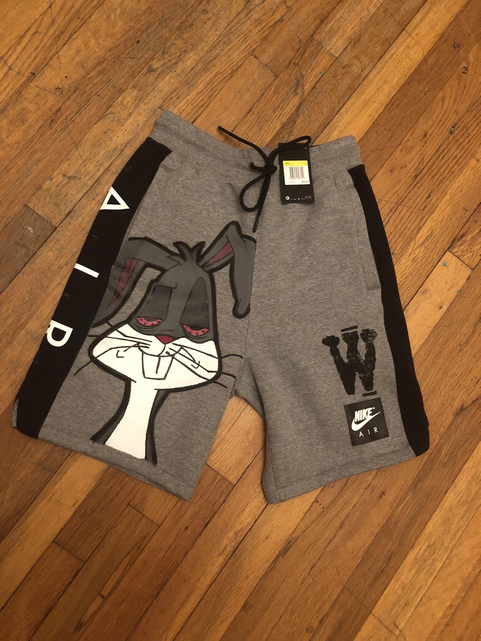 nike bugs bunny shorts