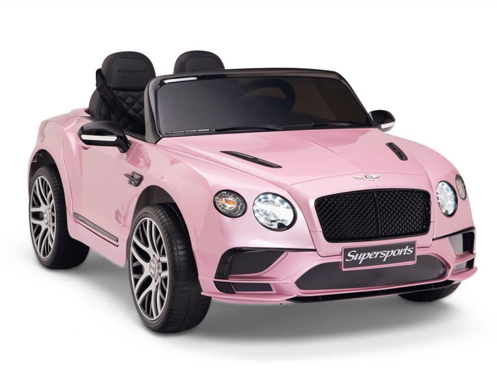 12v Bentley Supersports Pink