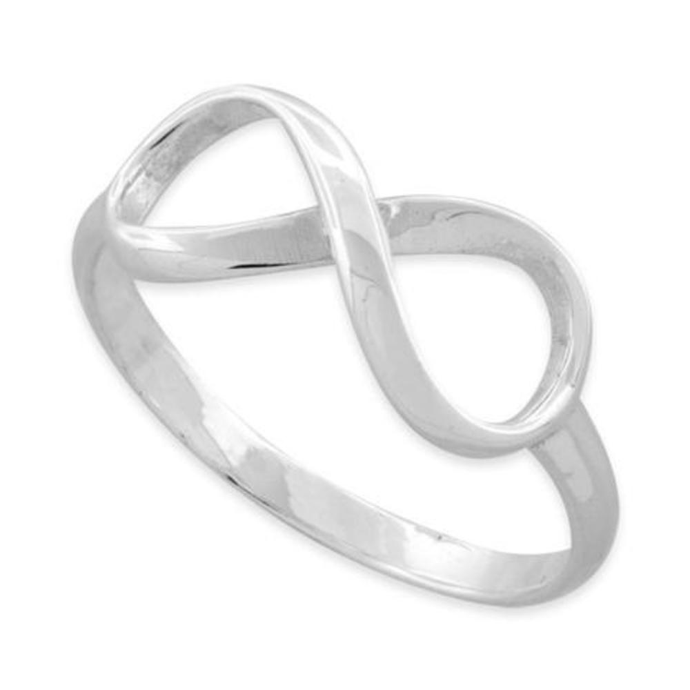 Infinity Ring High Silver925 Polish Sterling E92IWDH