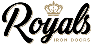 Navigate to the Royals Iron Doors homepage