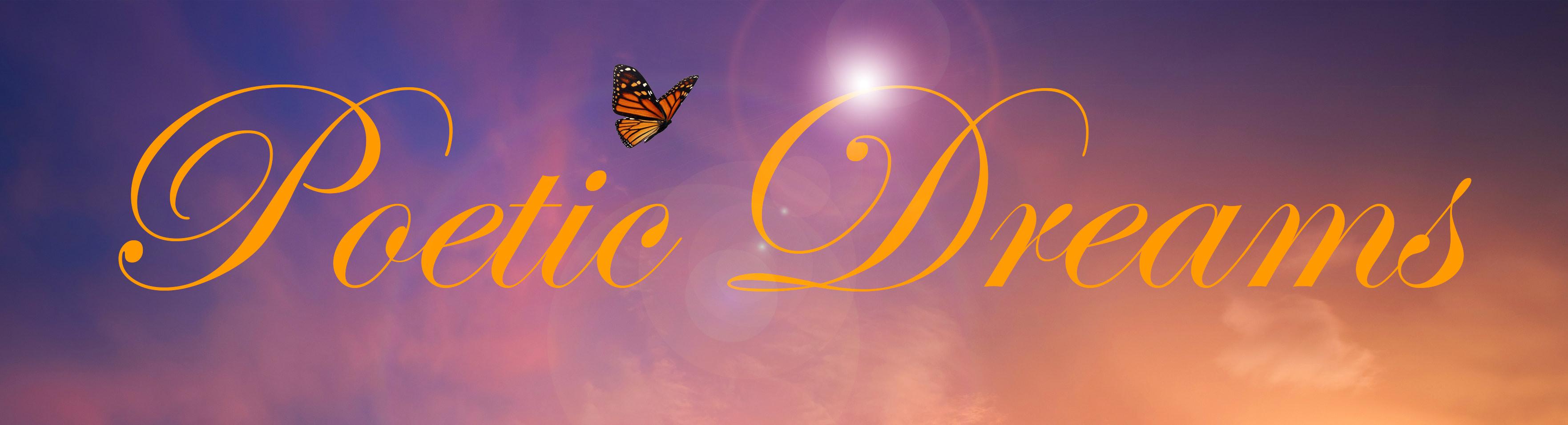 Navigate to the Poetic Dreams homepage