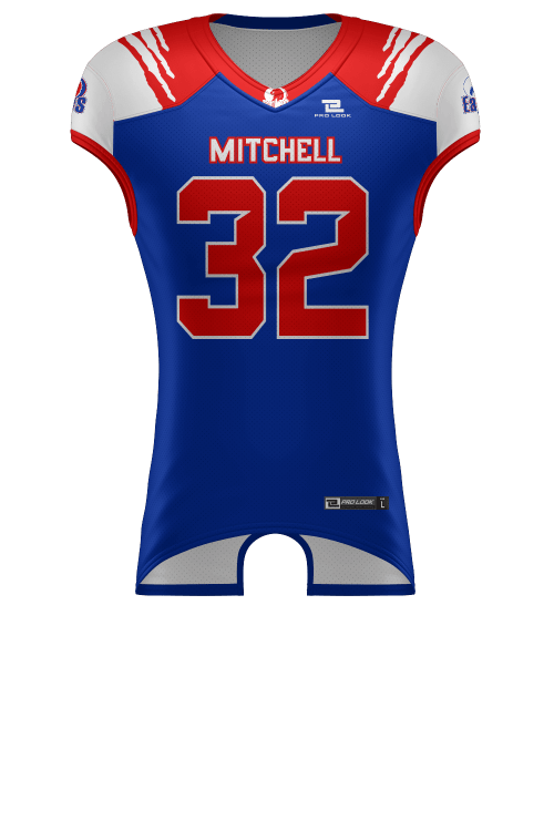 reputable site 14138 283f7 1 Ply Reversible Football Jersey
