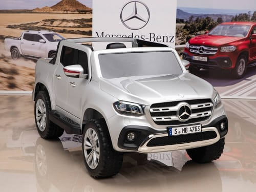 12V Mercedes Benz X Class Kids Ride On Truck With Remote