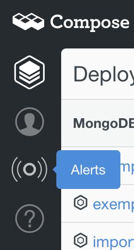 Alerts tooltip