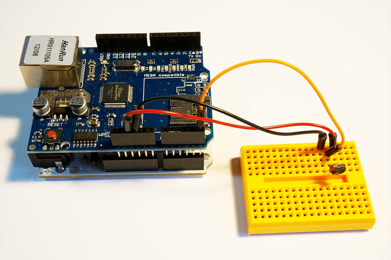 Board With Sensor