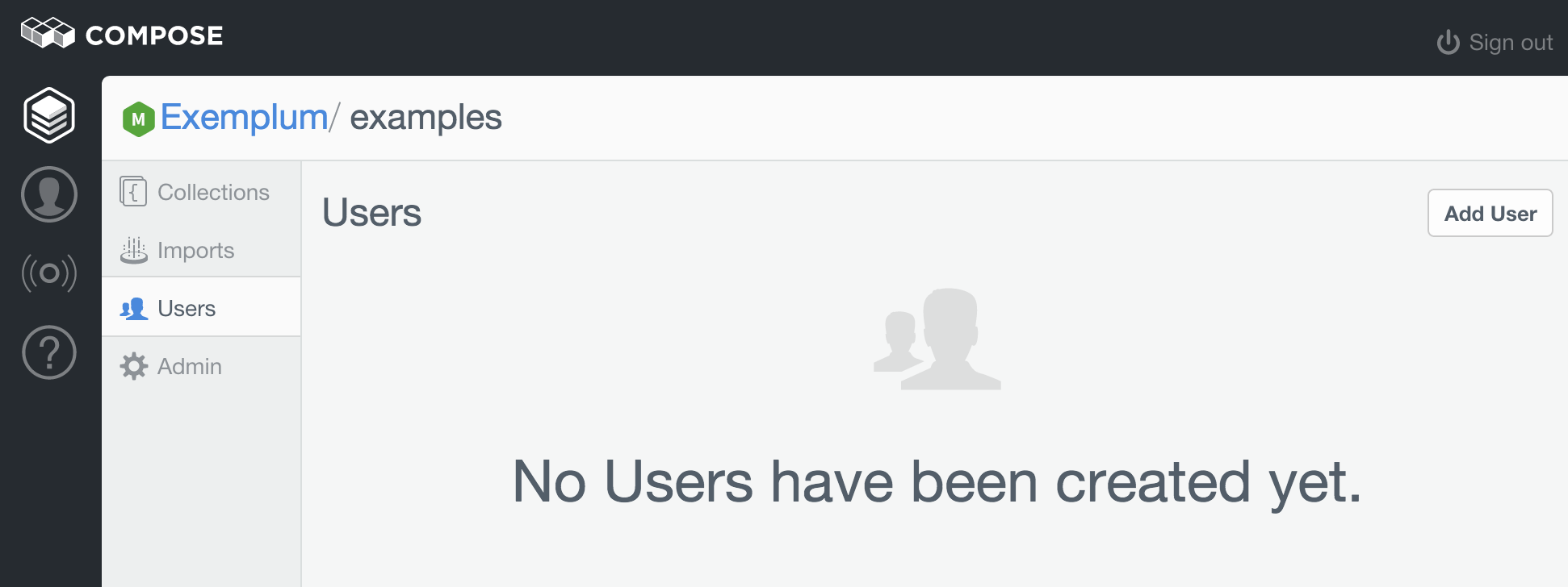 No Users