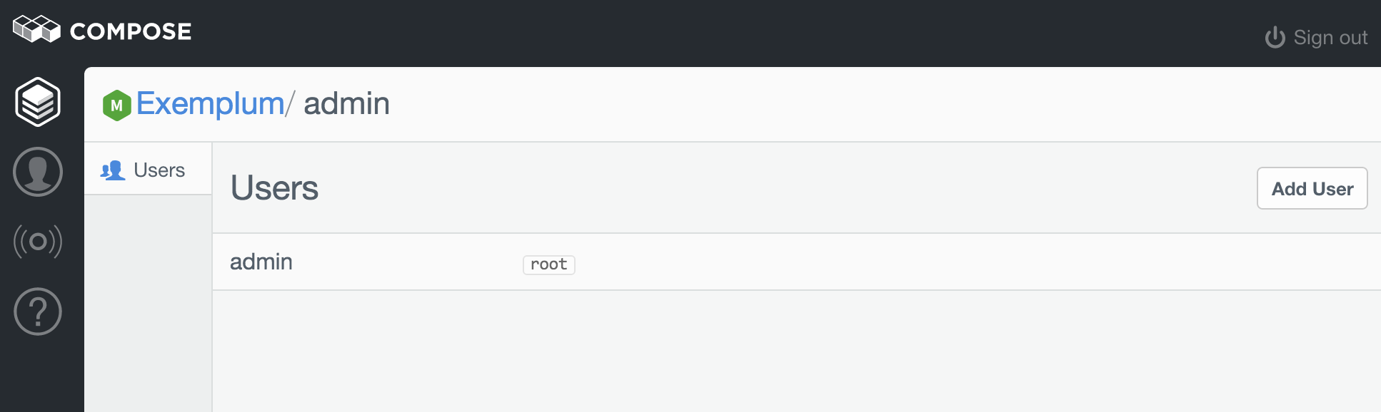 Admin Users