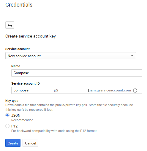 Google Service Account