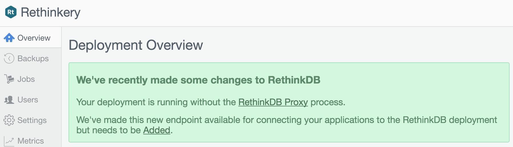 Proxy Update